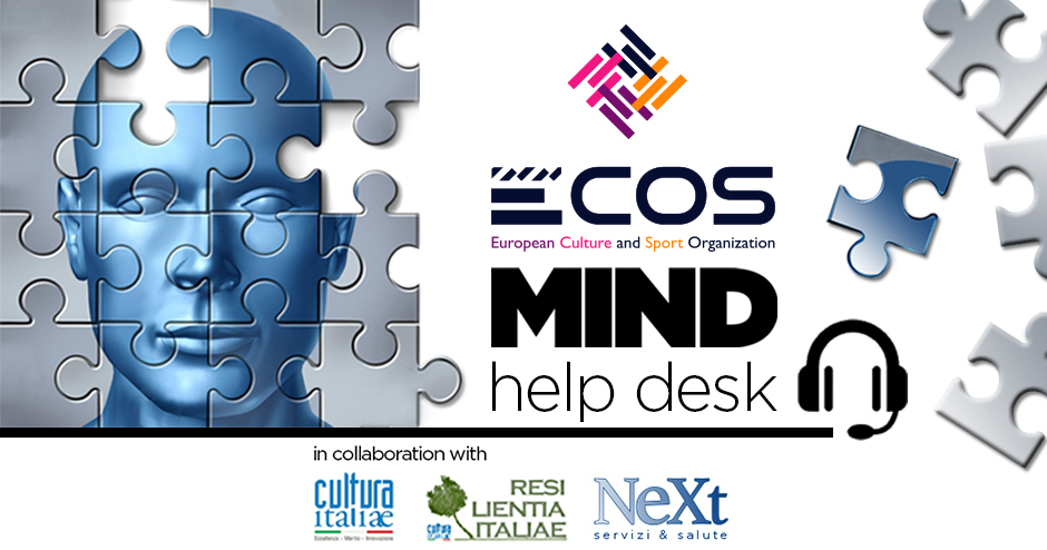 Nasce ECOS Mind, servizio gratuito di supporto psicologico
